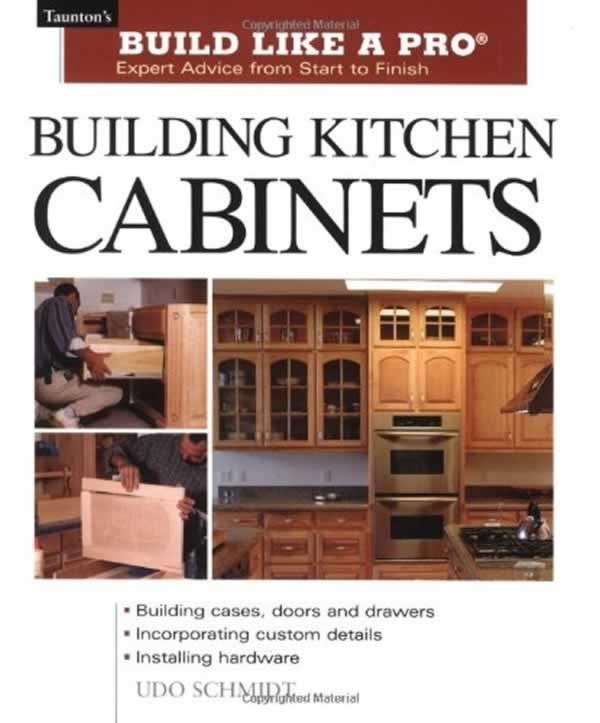Excellent book about making your own kitchen cabinets! #cabinet #kitchen #diy