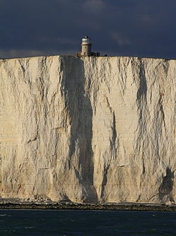 Belle Tout lighthouse - Beachy Head, East Sussex, Great Britain - those famous white cliffs of Dover