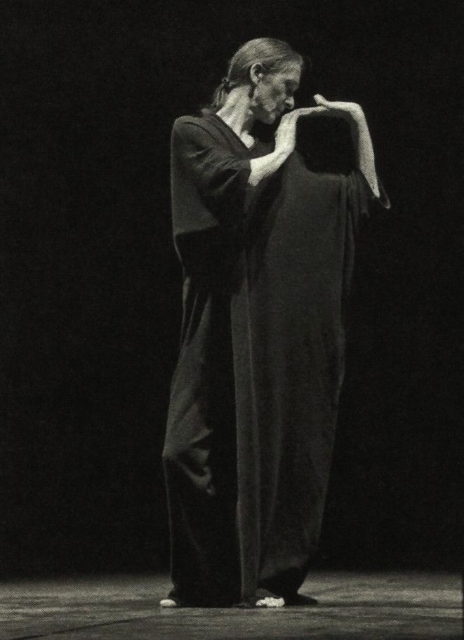 Yohji Yamamoto|     yohji yamamoto for pina bausch, 25th anniversary of the tanztheater wuppertal foundation, 1998