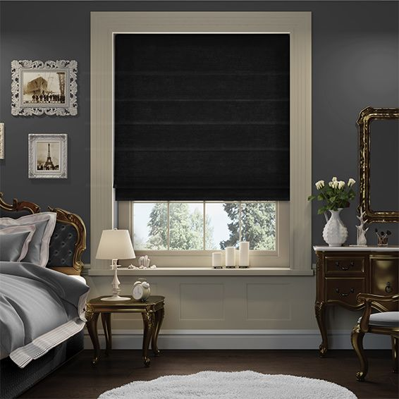 If you want a black roman blind then this blind is a wonderful choice, the soft…