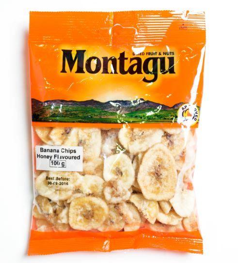 Banana Chips Honey Flavoured