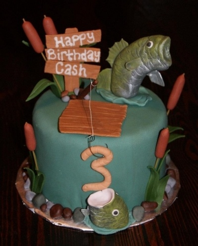 Fishing Cake By Betnie Bakes on CakeCentral.com