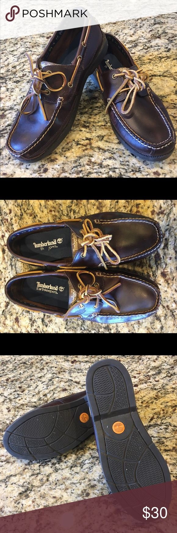 Timberland Leather Boat Shoe Men's Timberland Earthkeepers Kiawah Bay Boat Shoe - Brown Leather. Excellent Condition - only worn a few times. Minor scuffs on the inside of one shoe. Smoke Free Home. Timberland Shoes Boat Shoes