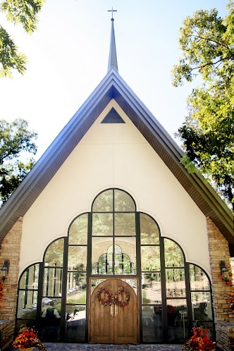 Stonegate Glass Chapel Our Wedding Ceremony Site