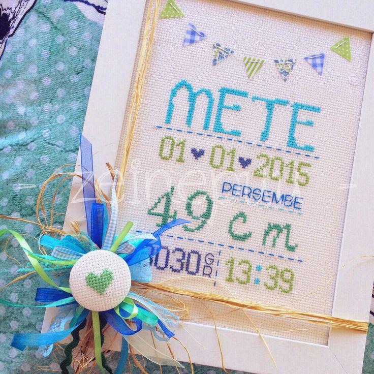 Zeinepuu: Mete*nin doğum panosu ♥