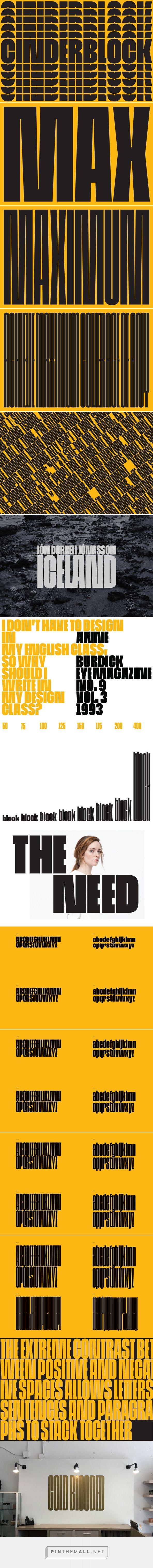 Cinderblock - Desktop Font & WebFont - YouWorkForThem - created via https://pinthemall.net
