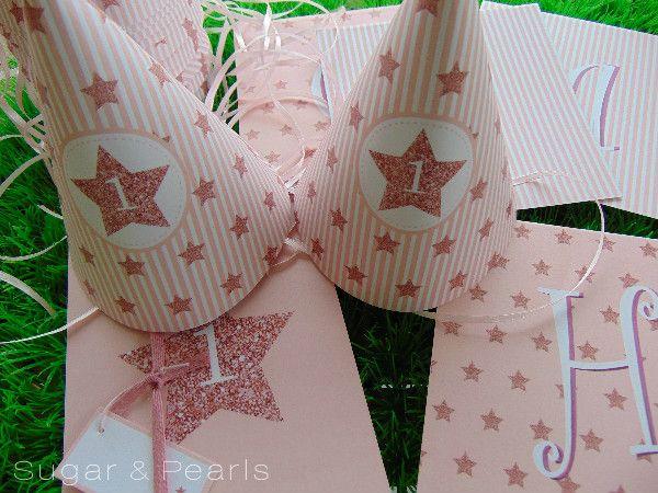 Twinkle twinkle little star-τα γενέθλια της Ιόλης ~ Sugar & Pearls