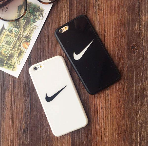 ナイキ NIKE iphone7 iphone6s plus ケース カップル ブランド iphone SE/6/5s 保護カバー スポーツ風 アイフォン6 ケース