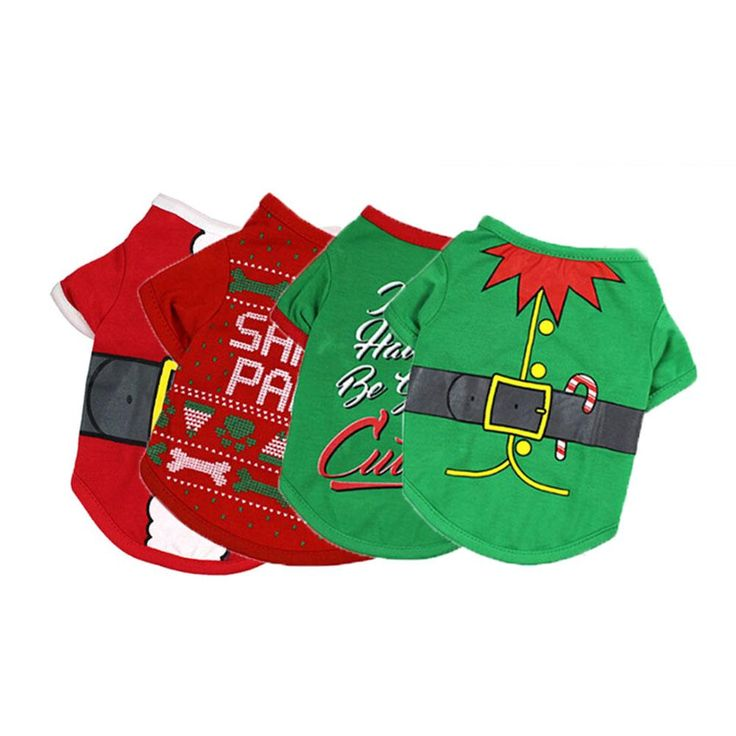 New! Assorted Dog Christmas Sweaters