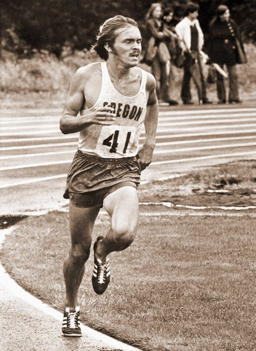 Steve Prefontaine sets a new American record in the event at the Rose  Festival Track and Field Meet, Mt.