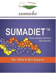 Sumabe Sumadiet, Hair, Nails and skin support formula, 30 capsules