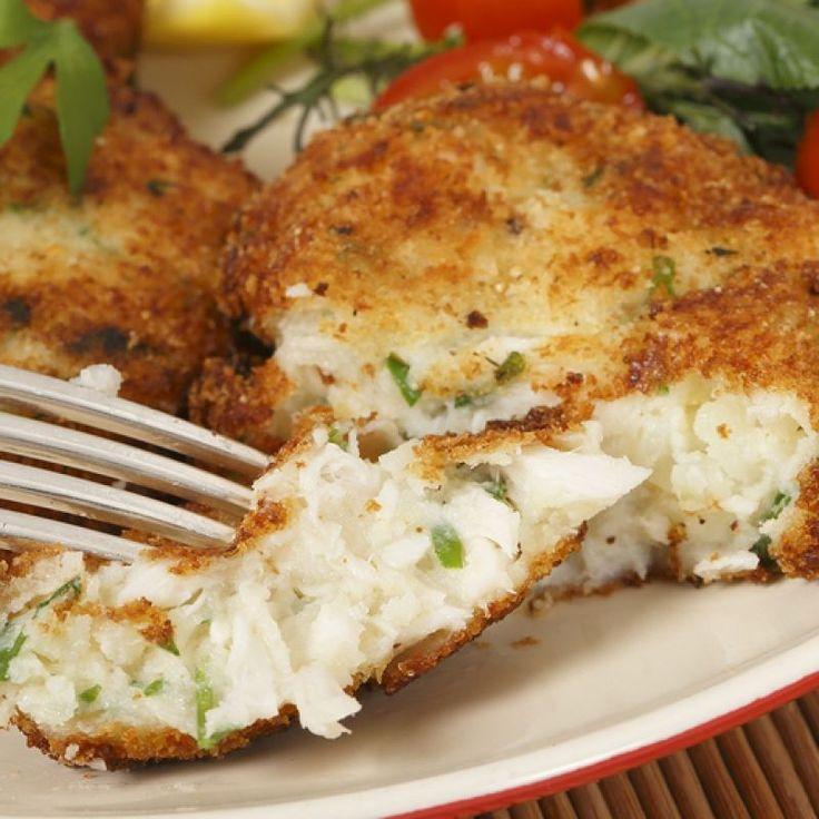 Easy Cod Fish Cakes
