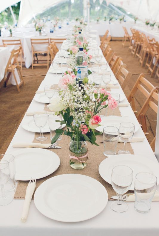 Emily Lewis Held Their Diy Outdoor Budget Festival Wedding In A Friends Field Kent