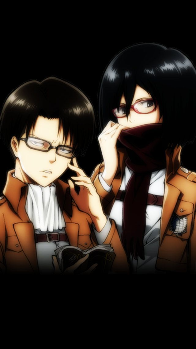Levi And Mikase Ackerman Hd Wallpaper | Best Wallpapers |Attack On Titan Levi And Mikasa