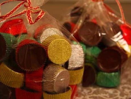 Leilas smaksatta ischoklad