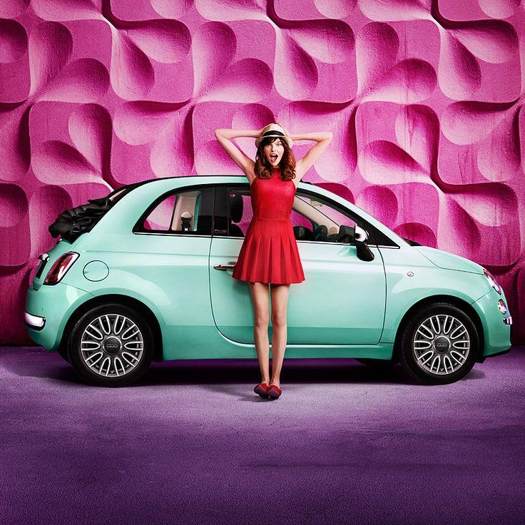 25+ Best Ideas About Fiat 500 Pink On Pinterest