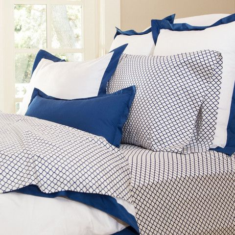 Bedroom inspiration and bedding decor | The Blue Cloud Sheet Set | Crane and Canopy