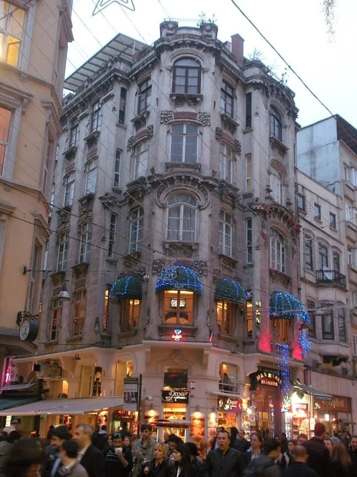Beautifull Building in Beyoğlu, Istanbul, Turkey