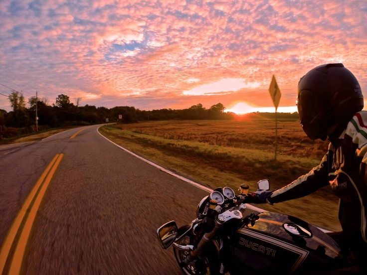 Riding into the sunset. | Matchless Motorcycles ...