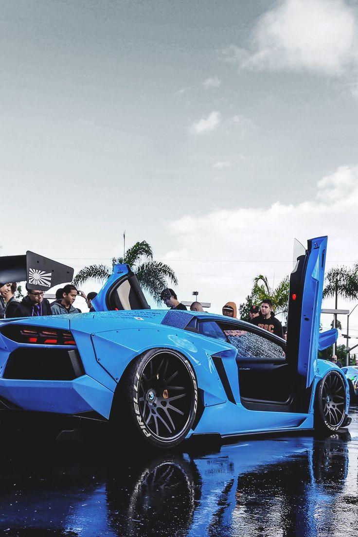 Sky Blue Lambo