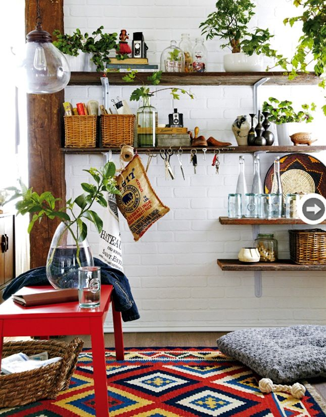 30 Bohemian Chic Homes to Inspire Your Inner Boho Babe via Brit + Co.