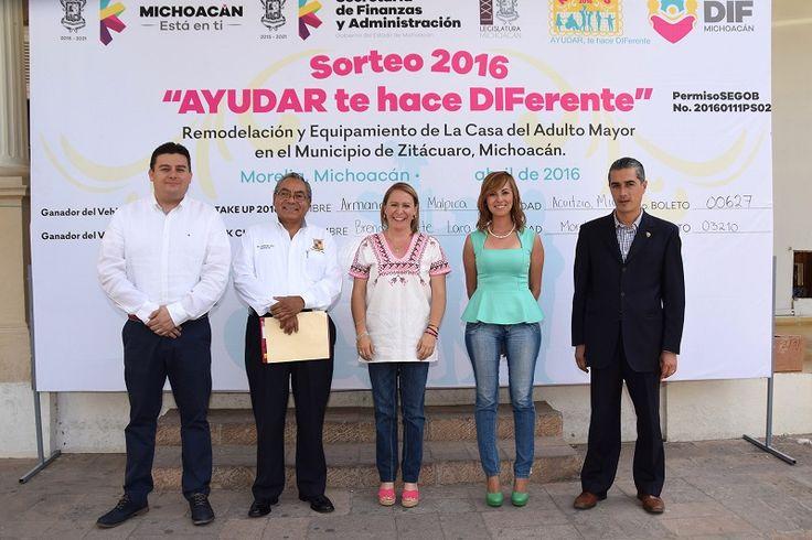 Los recursos obtenidos serán destinados para la remodelación y equipamiento de la Casa del Adulto Mayor en el municipio de Zitácuaro, recordó la directora del DIF Michoacán – Morelia, Michoacán, ...