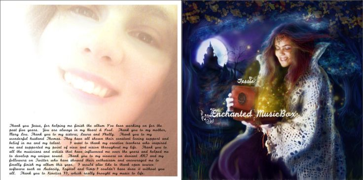 """Check out Tessie """"Enchanted MusicBox"""" on #ReverbNation @Tessie Santiago"""