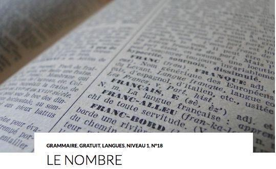 LE NOMBRE En règle générale, on marque le pluriel en ajoutant un S. Exemples : le grand livre / les grands livres la petite maison / les petites maisons La suite sur : http://www.lcf-magazine.com/?p=1424
