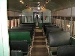 The inside of the red rattler trains that operated on our line during my childhood and teenage years.