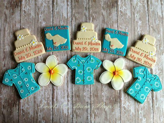 Hawaiian Wedding Favors & Ideas on Pinterest Nautical wedding favors ...
