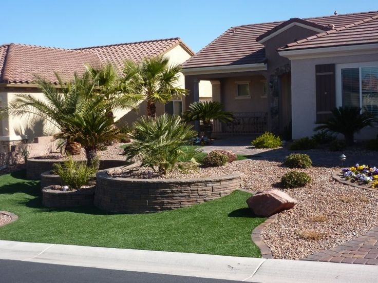17 images about corner lot landscaping ideas on pinterest for Desert landscape design