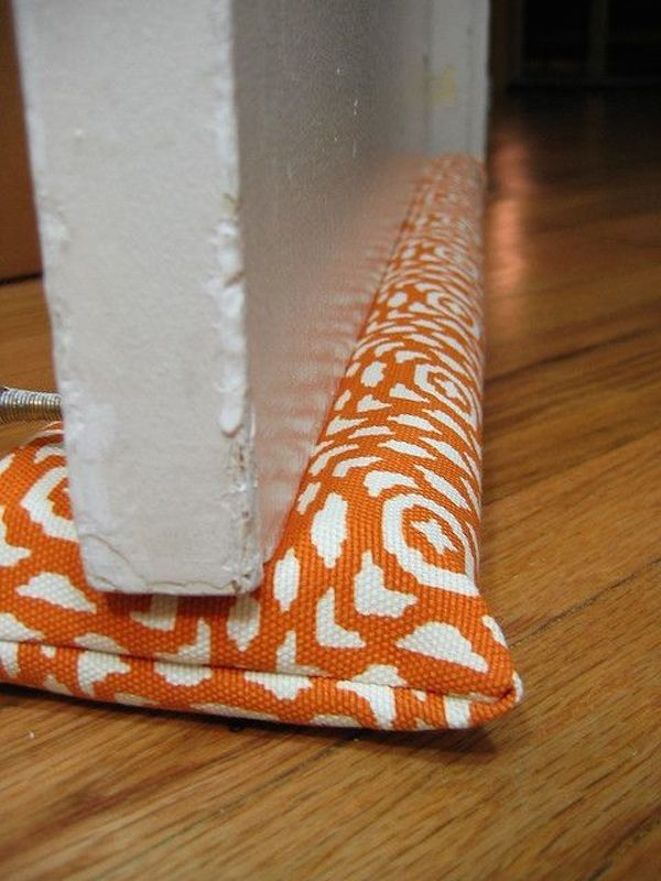 20 DIY Door Draft Stoppers That Keep Your Home Insulated   thegoodstuff & 42 best Draft Stoppers images on Pinterest   Draft stopper Door ... pezcame.com