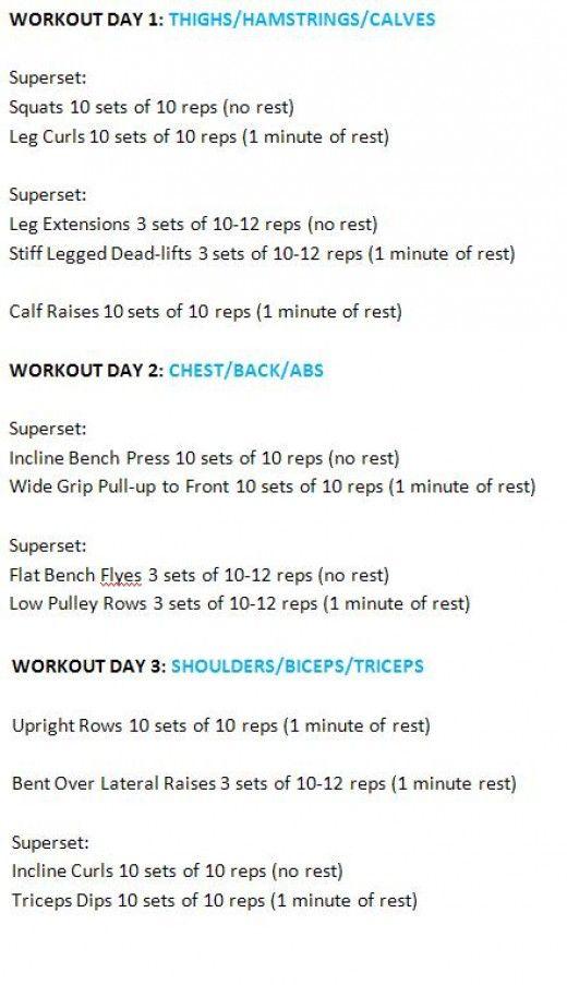 Endomorph weight lifting schedule
