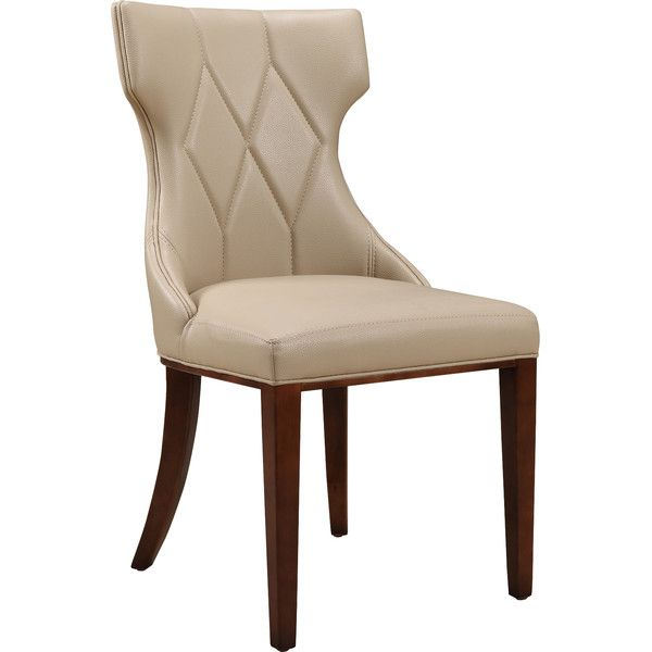 House Of Hampton Sutherland Leather Side Chair