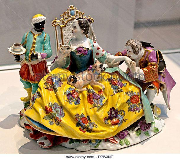 the baisemain meissen model of johann joachim kandler fischbach,germany