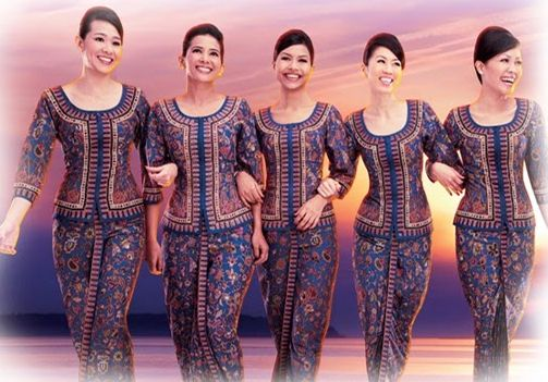 "Singapore Airlines started operations in 1972 and the iconic figurehead has been used in almost all of their marketing campaigns since then. The ""Singapore Girl"" uniform was designed by Pierre Balmain and symbolises the heritage and distinction the airline has earned over the years."