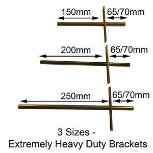 heavy duty long concealed invisible hidden floating shelf support brackets