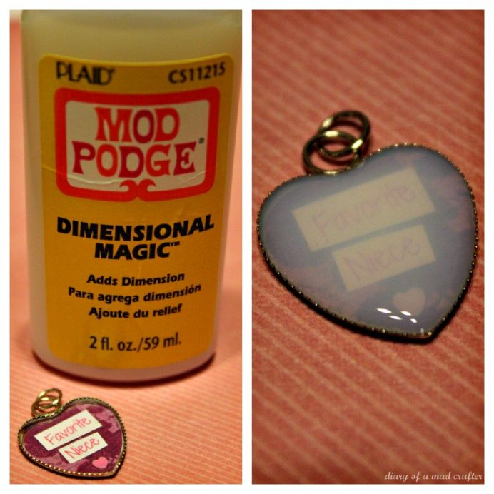 Mod Podge Dimensional Magic Tutorial