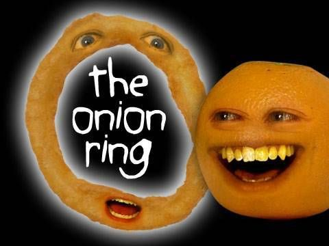 Annoying Orange - The Onion Ring omg!