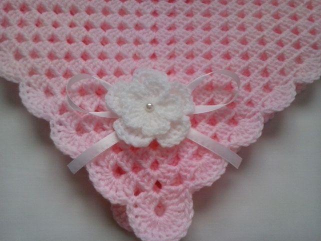 Handmade Crochet Baby Blanket £16.70