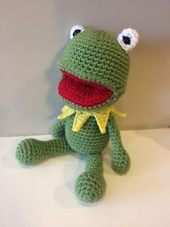 The FREE Kermit the Frog crochet pattern that you've been waiting for!!!!