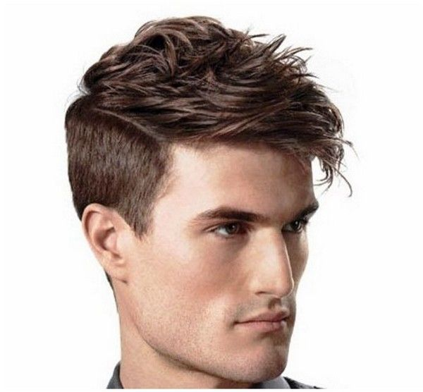 mens hairstyles short sides long top