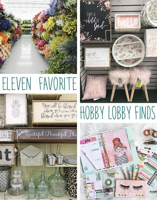 Favorite things to buy at Hobby Lobby - Come shopping with me and I'll show you all the cutest things at Hobby Lobby #ad #hobbylobbyfinds