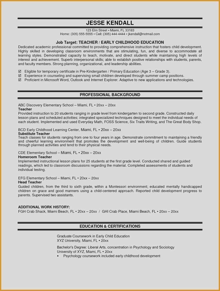 Sample Resume Zone Resume Templates Math Lessons Middle School Middle School Math Lesson Plans Teacher Resume Examples