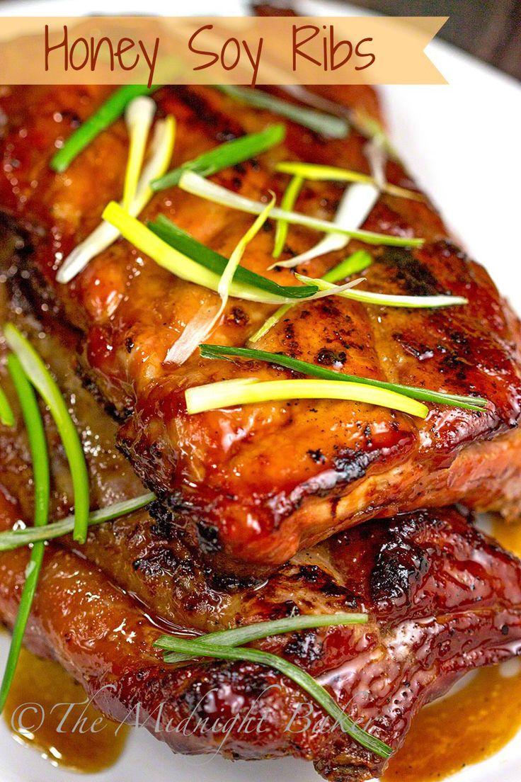 Smoked pork ribs mop recipe