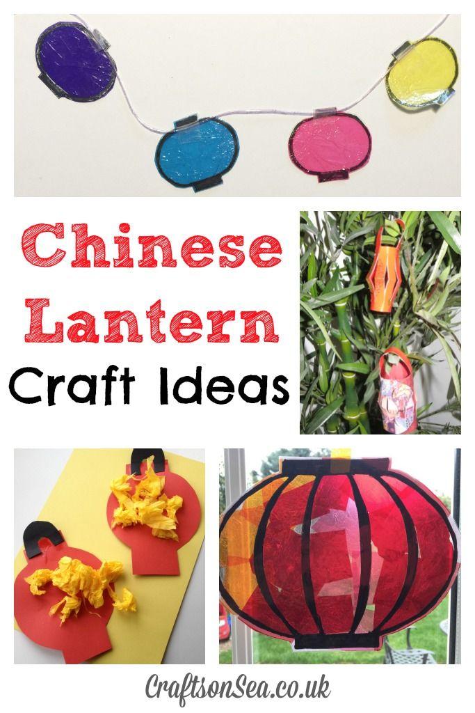 Chinese Lantern Craft Ideas: Tuesday Tutorials - Crafts on Sea