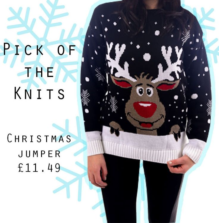 #christmas #jumper #reindeer  >> http://hiddenfashion.com/clothing/jumpers-cardigans/knitted-christmas-reindeer-pattern-oversize-jumpers.html