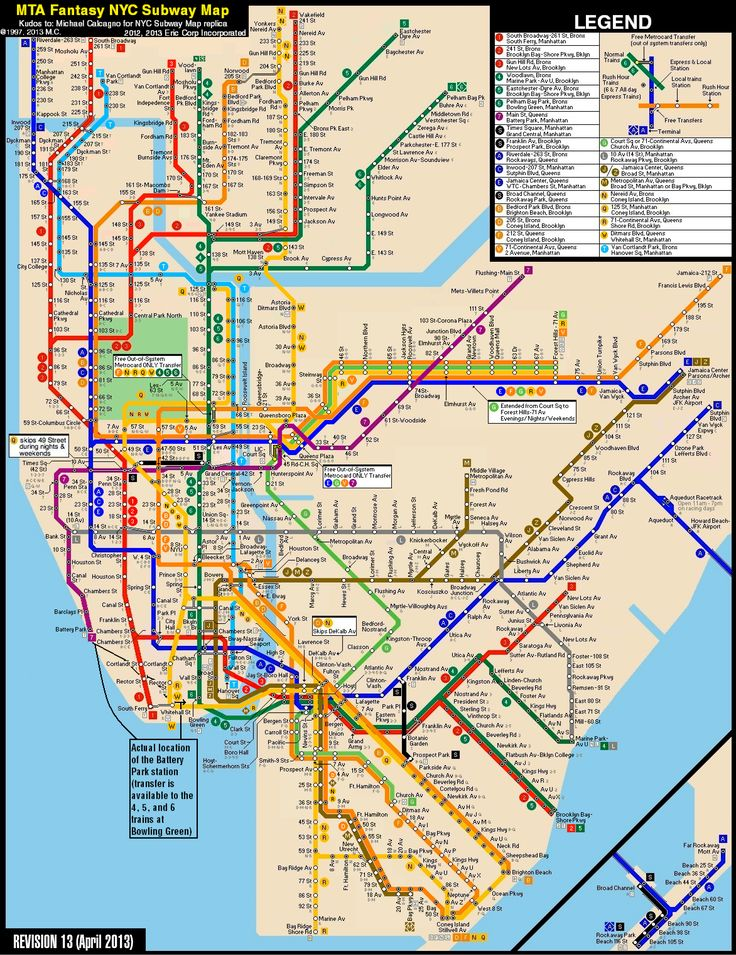 Best Nyc Subway Map