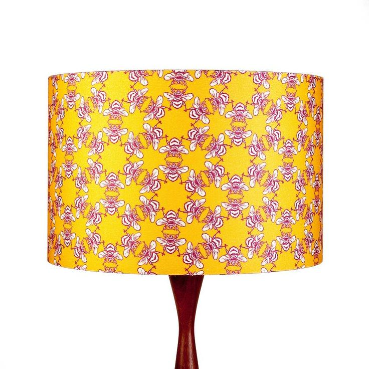 waggle dance lampshade by clementine & bloom | notonthehighstreet.com