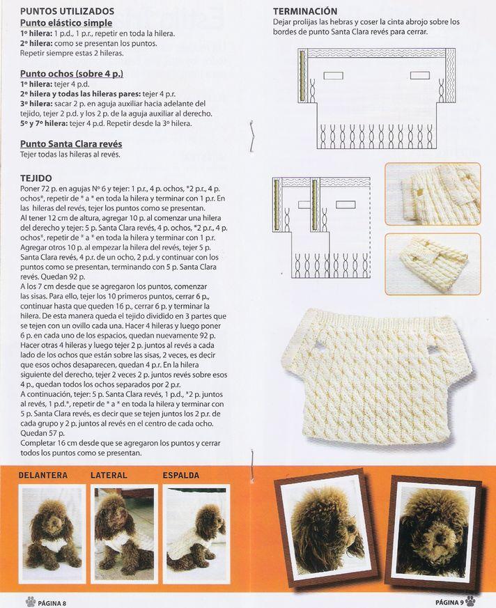 Moderno Patrón De Ganchillo Para El Suéter Gato Fotos - Manta de ...